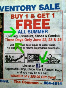 All Summer. Three Days Only.