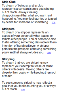 Stripping.Dream