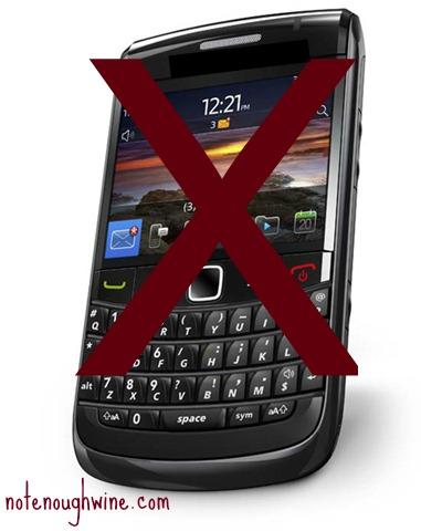 Bye-bye cellphone.